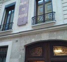 Facade du Palais Du Peuple