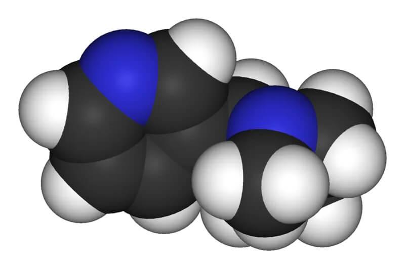 Molécule de nicotine